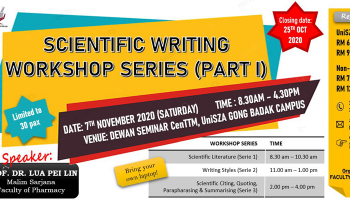 SCIENTIFIC WRITING WORKSHOP SERIES (PART 1)